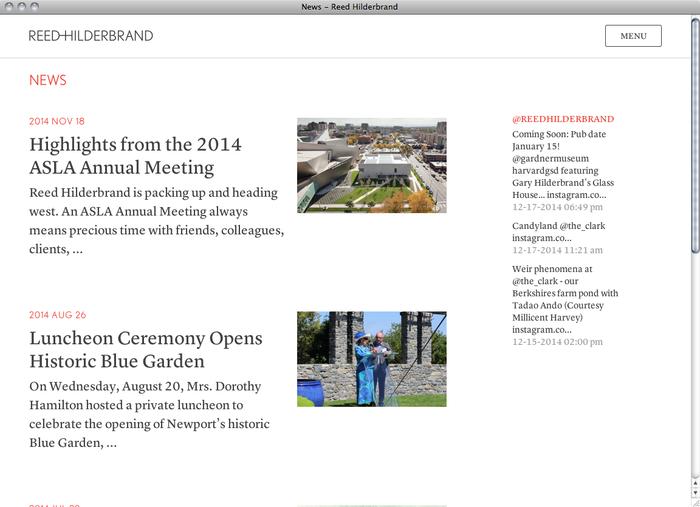 Reed Hilderbrand website 2