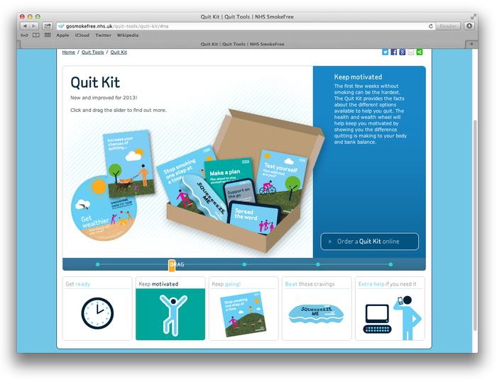 NHS Smokefree Quit Kit 3
