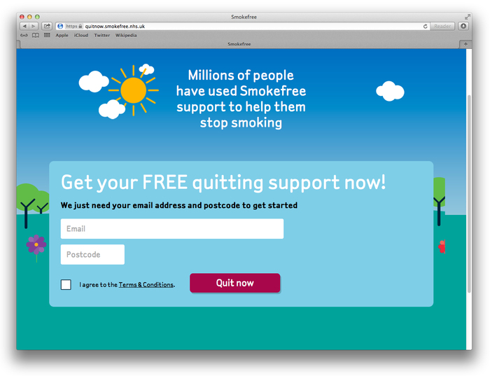 NHS Smokefree Quit Kit 4