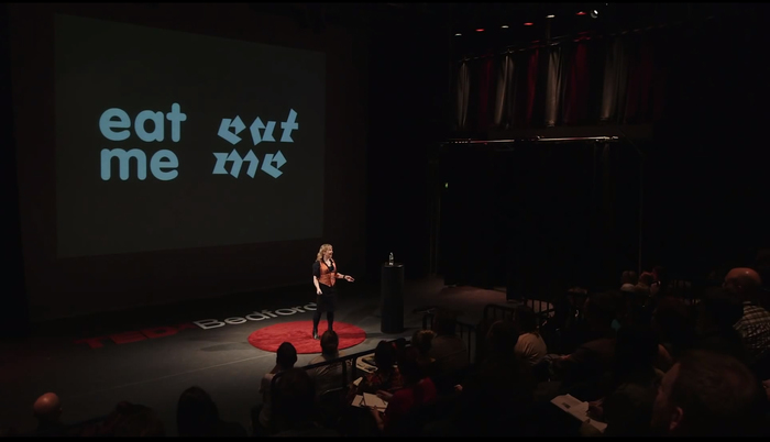 Sarah Hyndman: Wake Up and Smell the Fonts talk 1