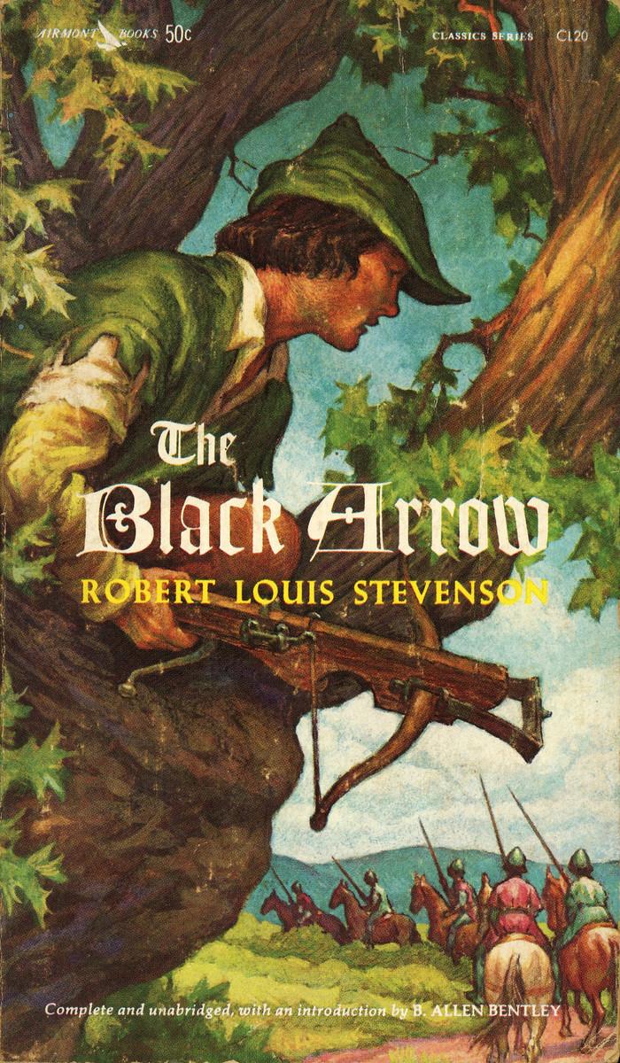 The Black Arrow by Robert Louis Stevenson, Airmont Books CL20
