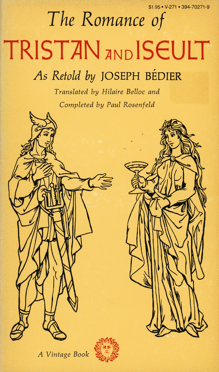 The Romance of Tristan and Iseult by Joseph Bédier, Vintage Books V-271