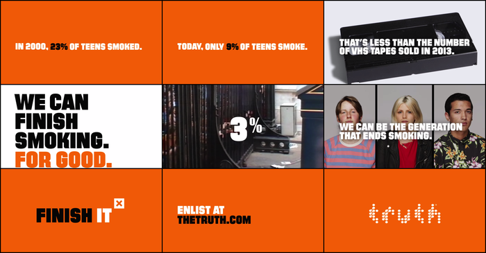 One of several online advertisingvideos for the #FinishIT campaign.
