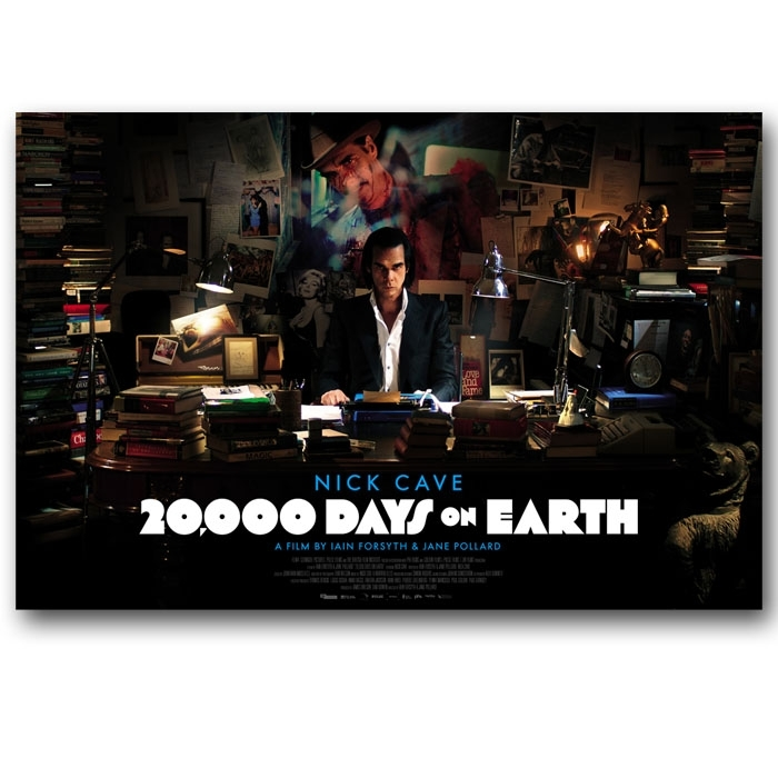 20,000 Days on Earth poster and promo goods 4