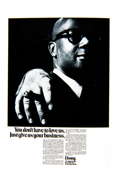 Ebony Magazine advertisement campaign 3