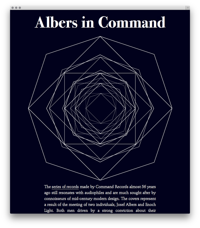 Albers in Command 3