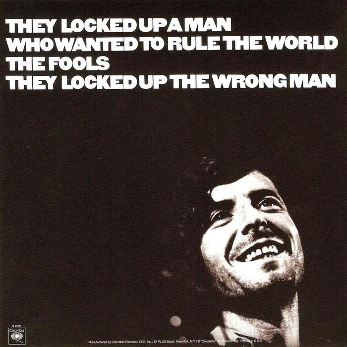 Leonard Cohen – Songs Of Love And Hate album art 2