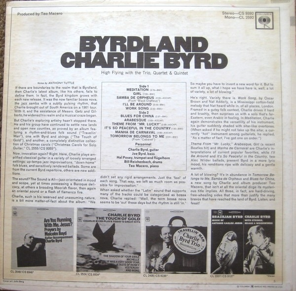 Byrdland by Charlie Byrd 2