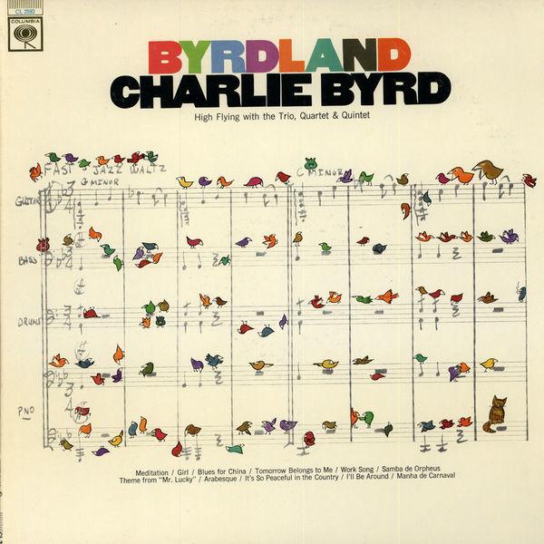 Charlie Byrd – Byrdland album art 1