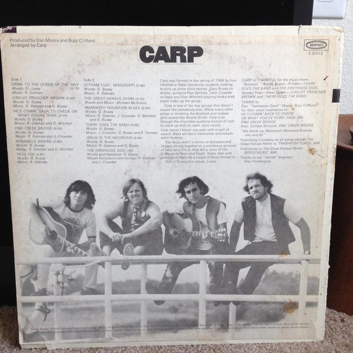 Carp – Carp album art 2
