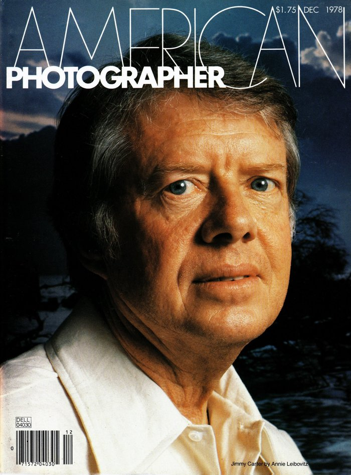 Jimmy Carter by Annie Leibovitz.
