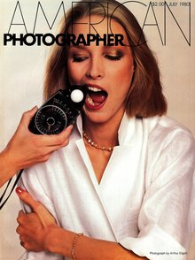 <cite>American Photographer</cite> magazine covers 1978–1987
