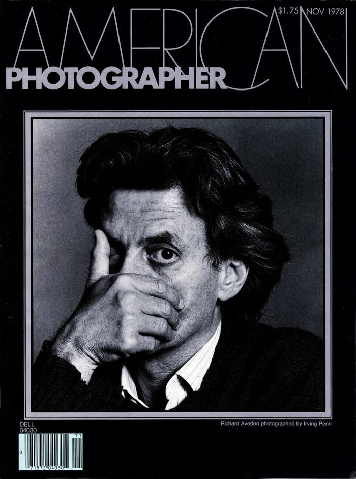 Richard Avedon by Irving Penn.