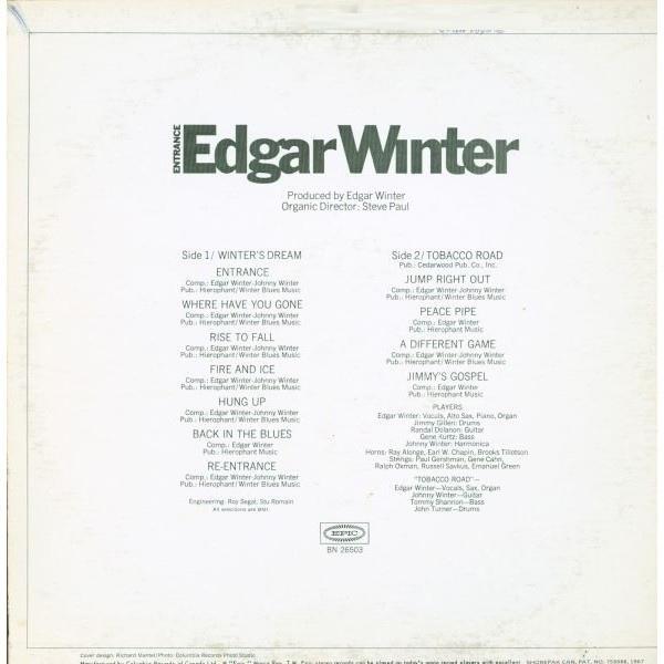 Entrance by Edgar Winter 2