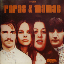 The Mamas &amp; The Papas – <cite>The Papas &amp; The Mamas</cite> album art