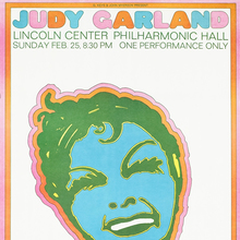 Judy Garland at Lincoln Center, Feb 25, 1968
