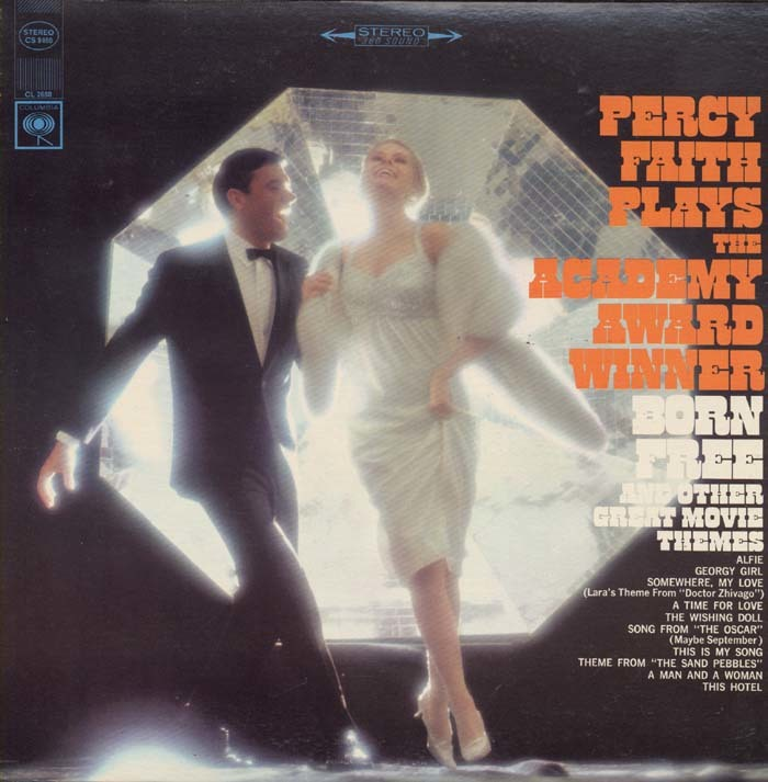 Percy Faith Plays The Academy Award Winner Born Free And Other Great Movie Themes – Percy Faith 1