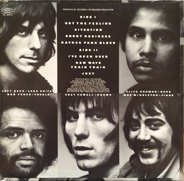 Jeff Beck Group – Rough And Ready album art 1