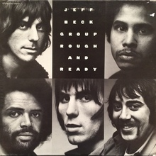 Jeff Beck Group – <cite>Rough And Ready</cite> album art