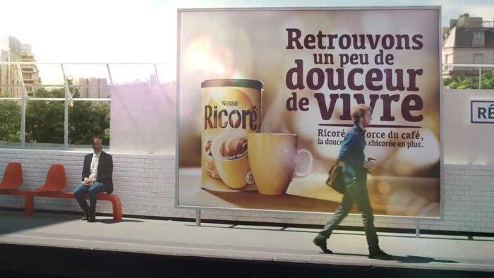 Nestlé Ricoré ad campaign 1