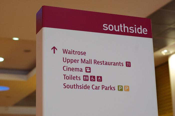 Southside Wandsworth wayfinding 1