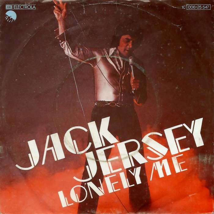 "Jack Jersey – ""Lonely Me"" German single cover"