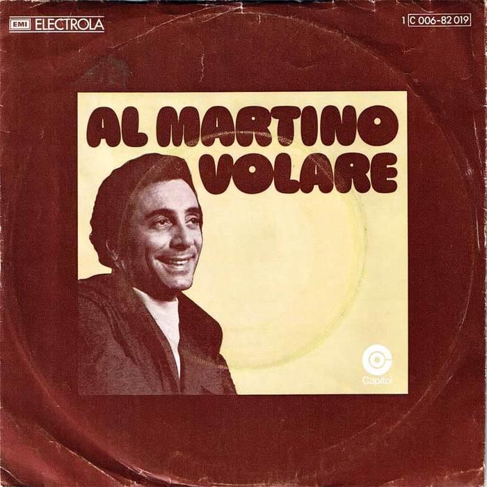 """Al Martino – """"Volare"""" German single cover"""