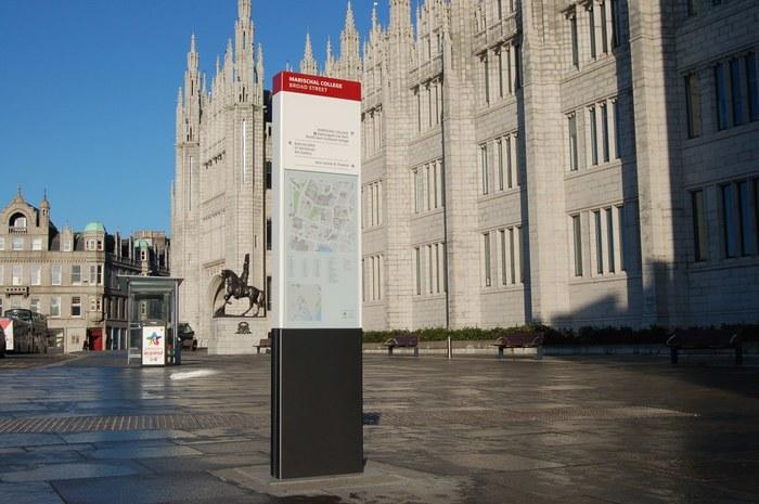 Aberdeen City Centre Wayfinding 1