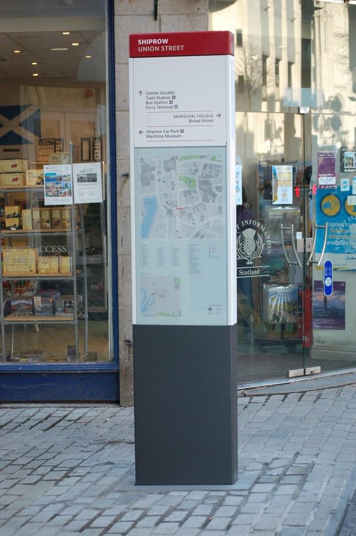 Aberdeen City Centre Wayfinding 4
