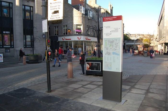 Aberdeen City Centre Wayfinding 5