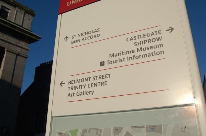 Aberdeen City Centre Wayfinding 6
