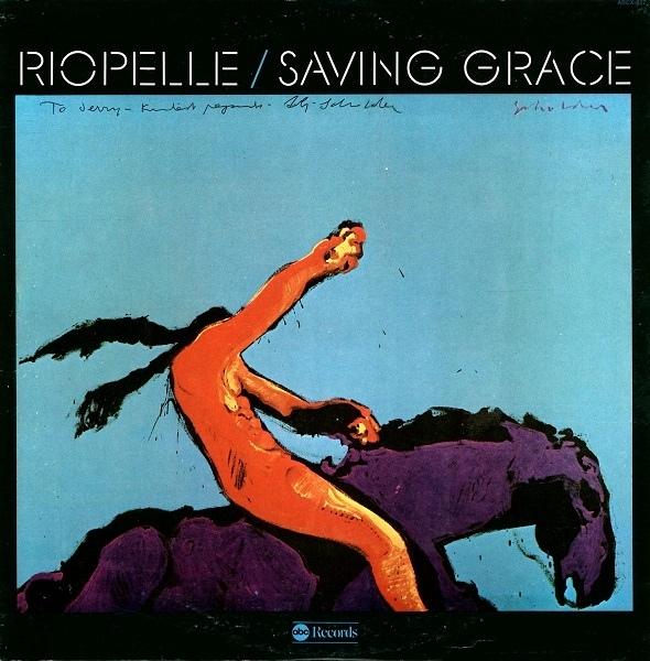 Jerry Riopelle – Saving Grace album art 2
