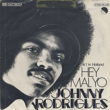 "Johnny Rodrigues – ""Hey Mal Yo"" German single cover"