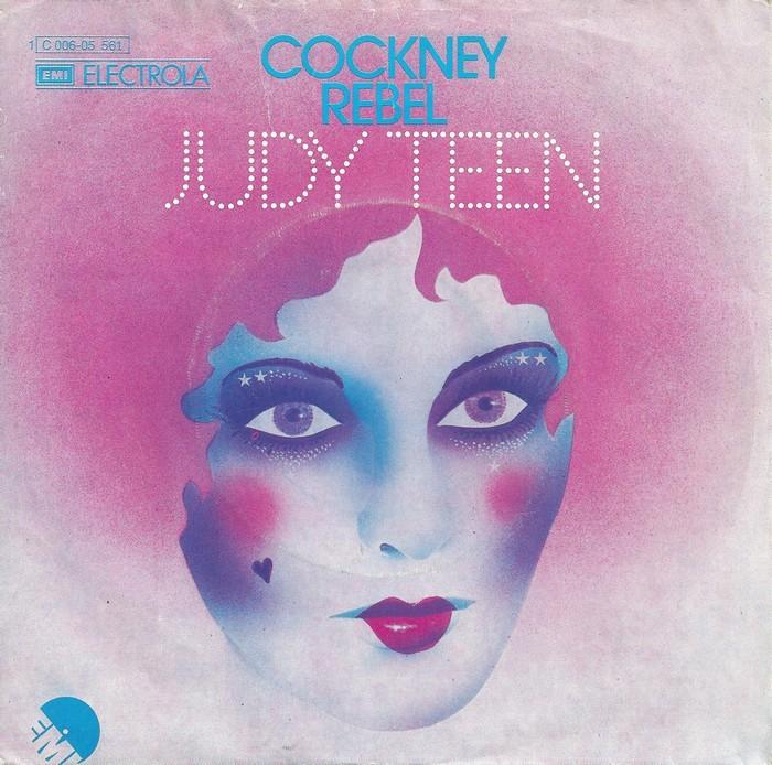 """Cockney Rebel – """"Judy Teen"""" German single cover"""