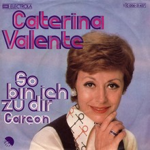 "Caterina Valente – ""So Bin Ich Zu Dir"" German single cover"