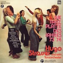<cite>Die Tanzplatte des Jahres 73/74</cite> by Hugo Strasser und sein Tanzorchester