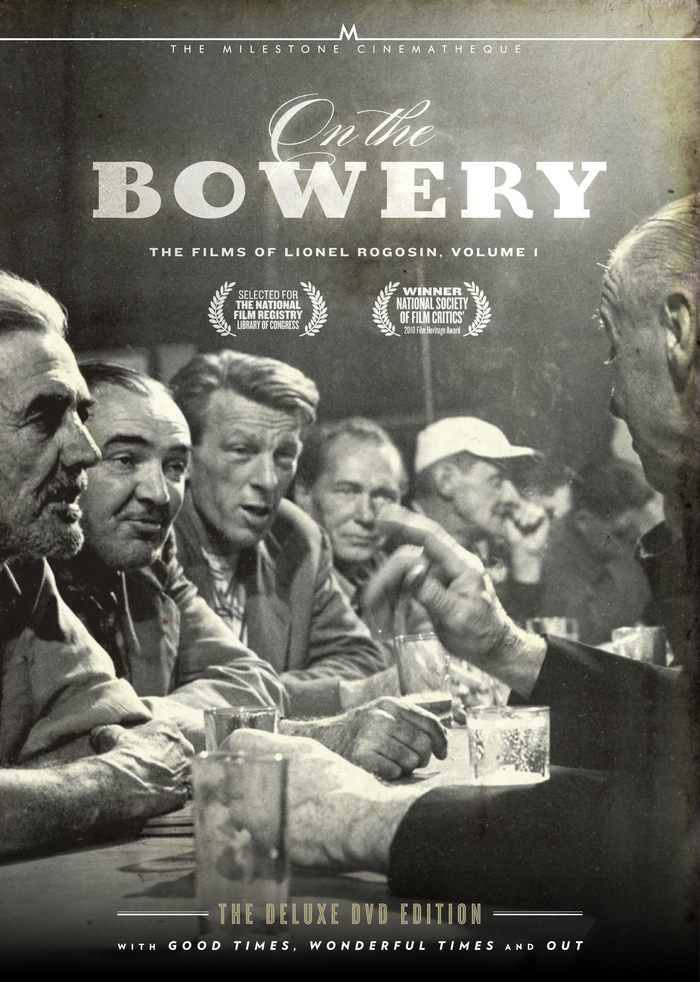 On the Bowery DVD cover