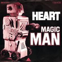 "Heart – ""Magic Man"" German single cover"