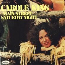 "Carole King – ""Main Street Saturday Night"" German single cover"