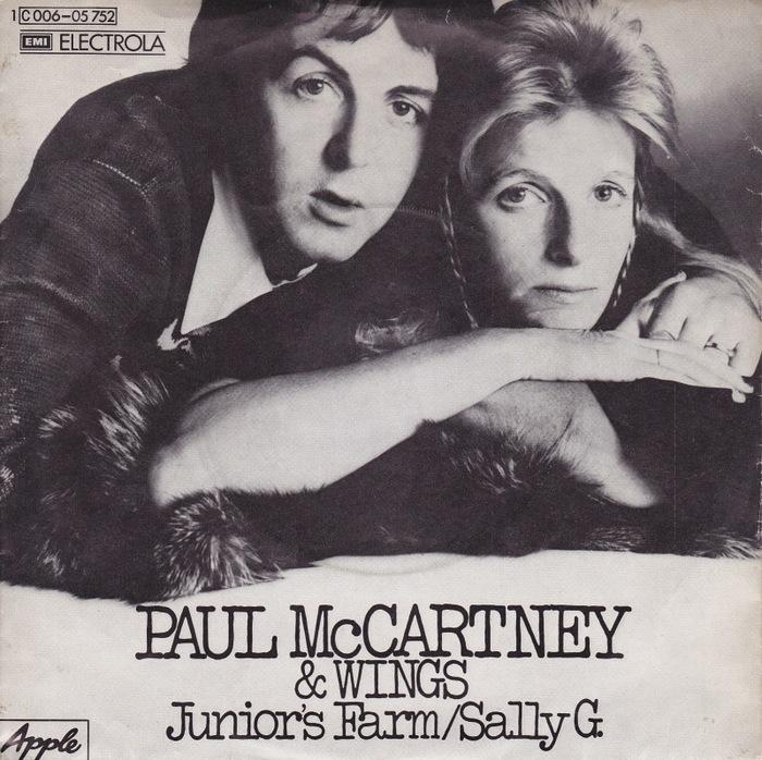 """Junior's Farm"" / ""Sally G."" – Paul McCartney & Wings"