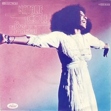 "Natalie Cole – ""Be Thankful"" single sleeve (Germany)"