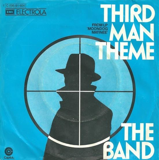 "The Band – ""Third Man Theme"" German single cover"