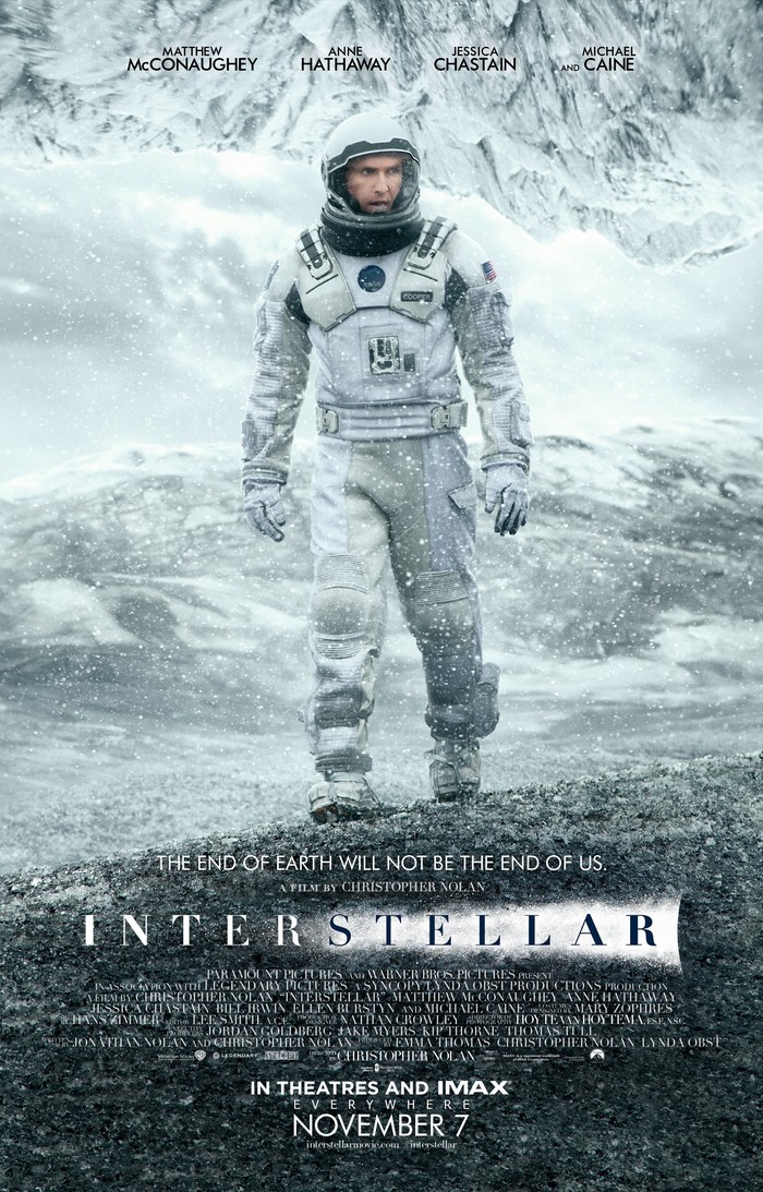 Interstellar movie posters and main title 2