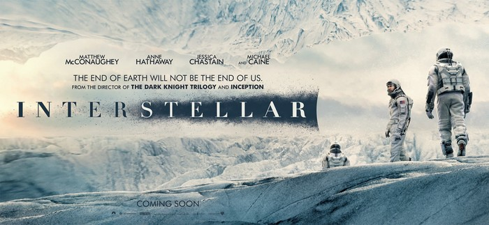 Interstellar movie posters and main title 3