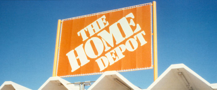 An early Home Depot store.