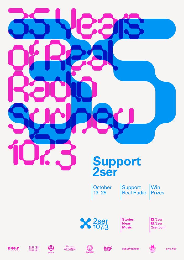 2SER Radio Posters 1