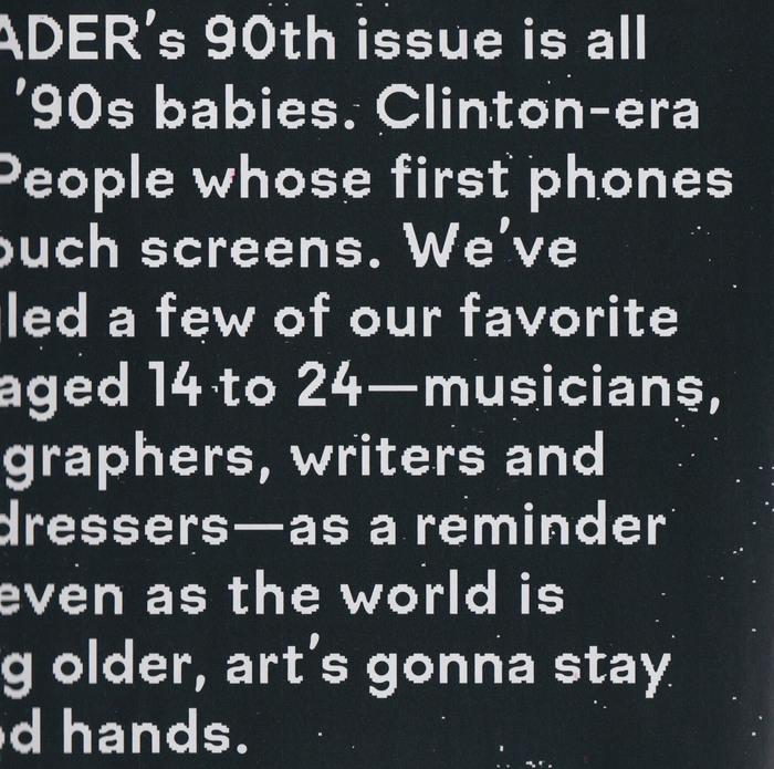 Fader Magazine, Issue 90 1