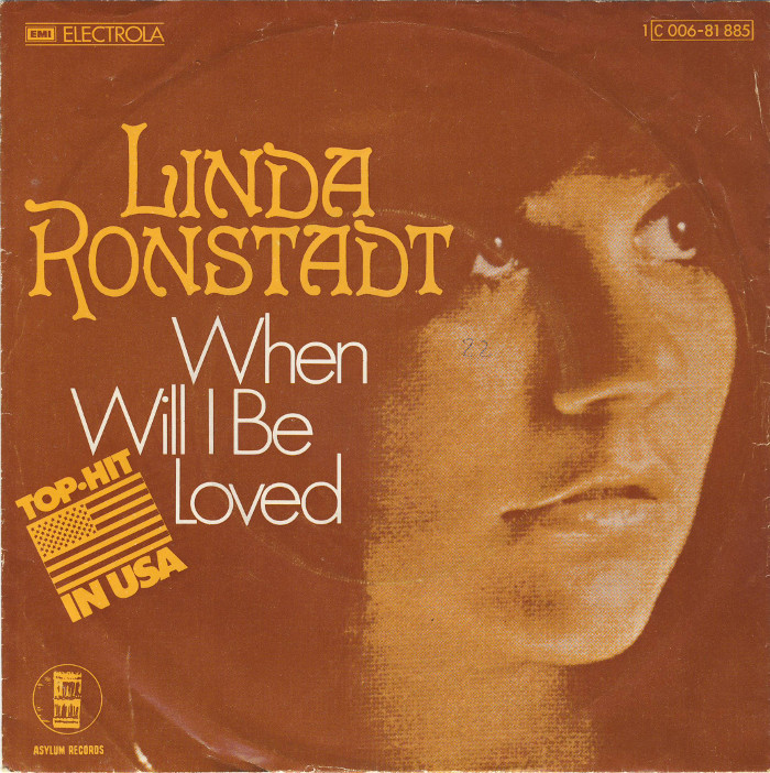 """""""When Will I Be Loved""""/ """"It Doesn't Matter Anymore"""" – Linda Ronstadt"""