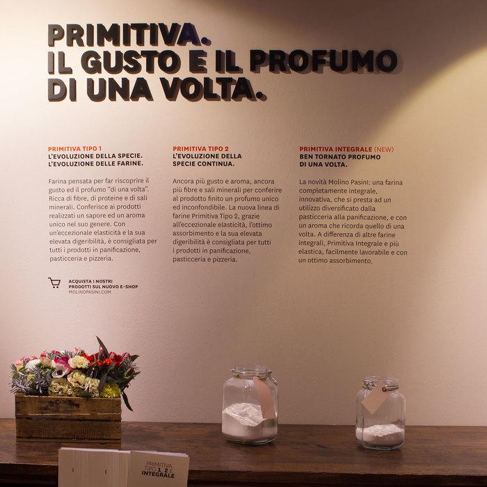 Fair stand for Molino Pasini 2