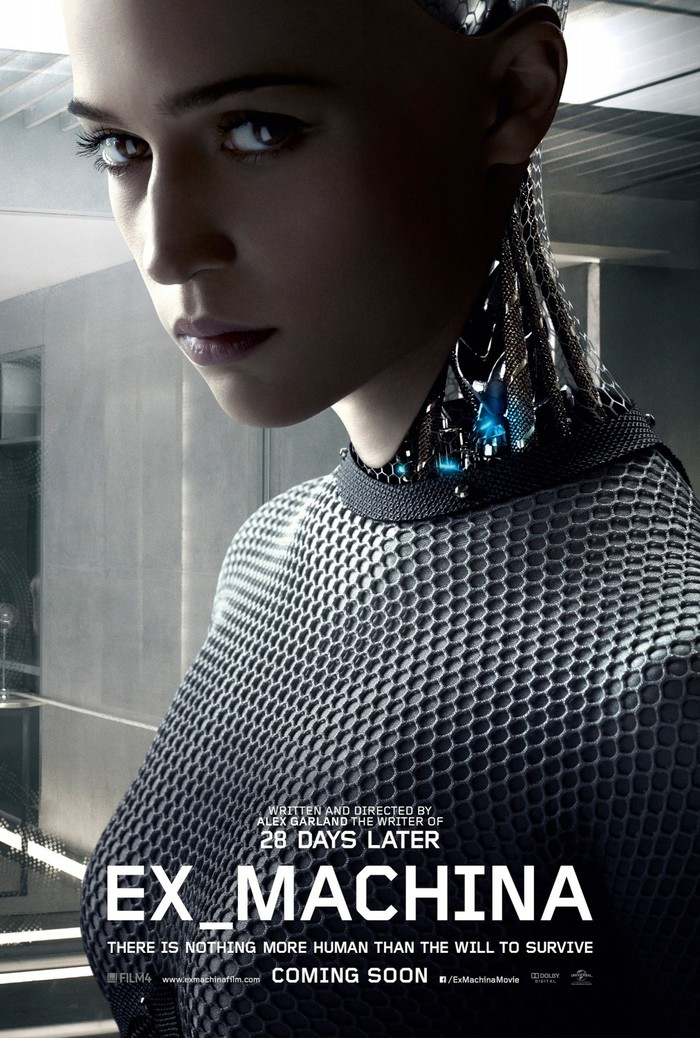 Ex Machina logo, posters, and marketing 1